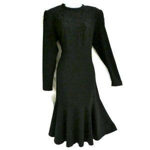 Adolph Schuman For Lilli Ann Dress Vintage 60s M